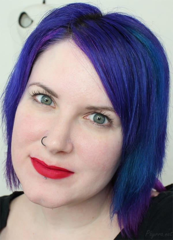 Dose of Colors Merlot Lip Swatch