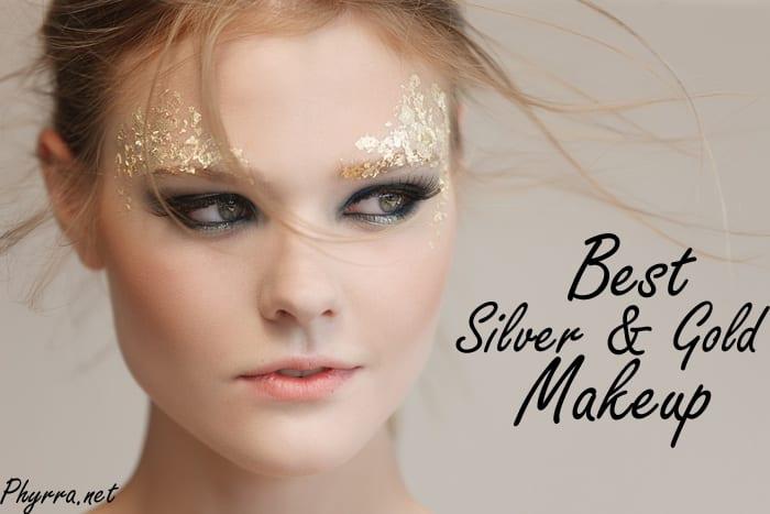 Best Silver & Gold Makeup