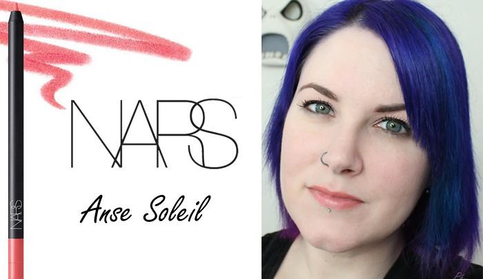 NARS Anse Soleil Velvet Lip Liner Look