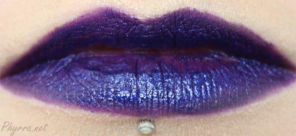 Obsessive Compulsive Cosmetics Technopagan Lip Tar Review
