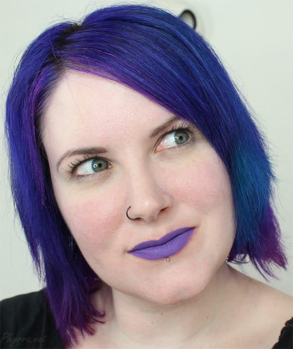 Dose of Colors Purple Rain Lip Swatch