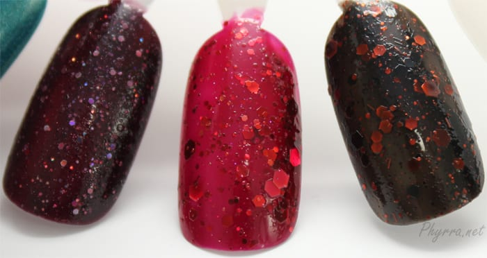 KBShimmer A Raisin to Live, Leaf of Faith, Jack Swatch