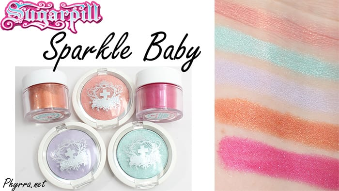 Sugarpill Sparkle Baby Video Review