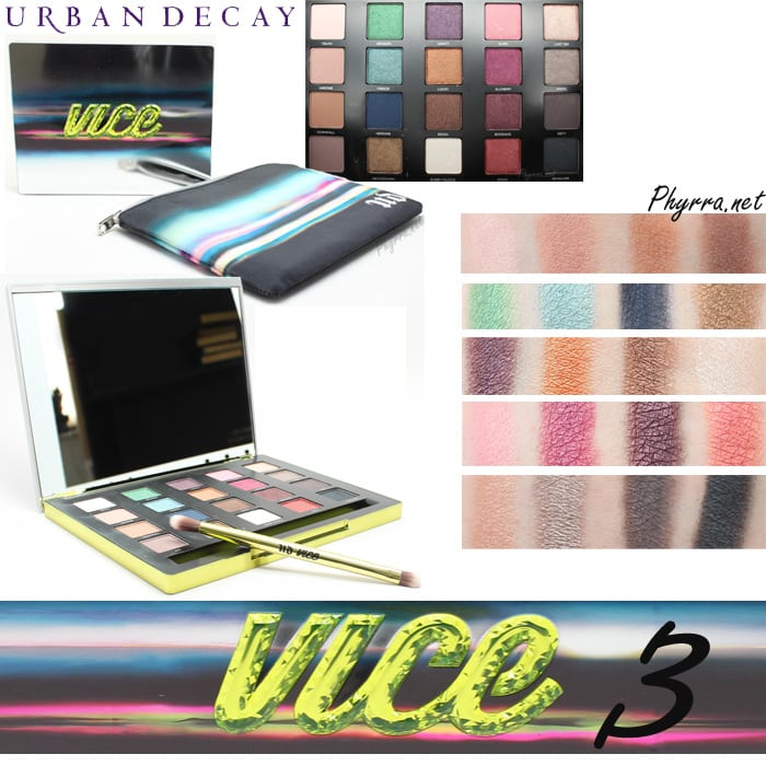 Urban Decay Vice 3 Palette Review