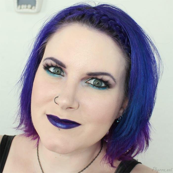 Sugarpill Stormy Lashes and OCC Makeup Technopagan