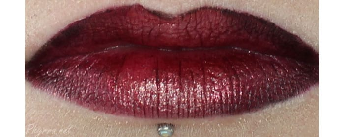 Wearing OCC Black Metal Dahlia topped with Super NSFW