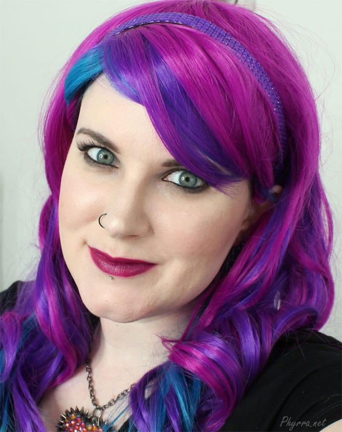 Wearing Colour Pop Flawless Lipstick