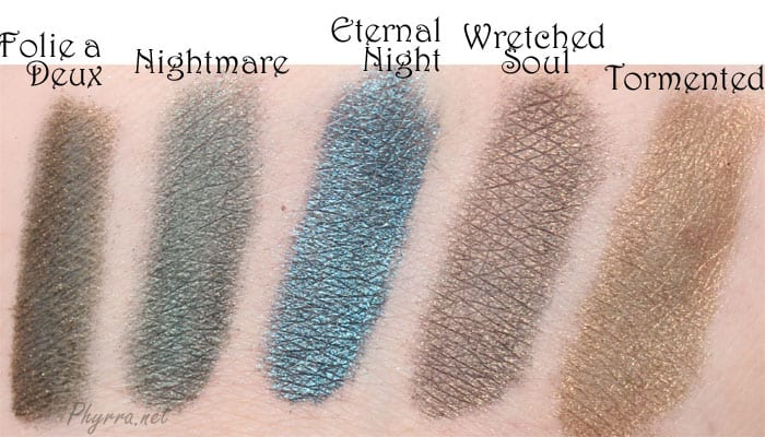 Meow Something Wicked Swatches Review Video