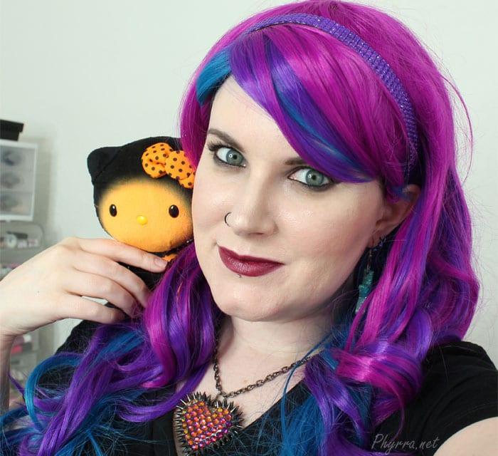 Phyrra and her Halloween Hello Kitty