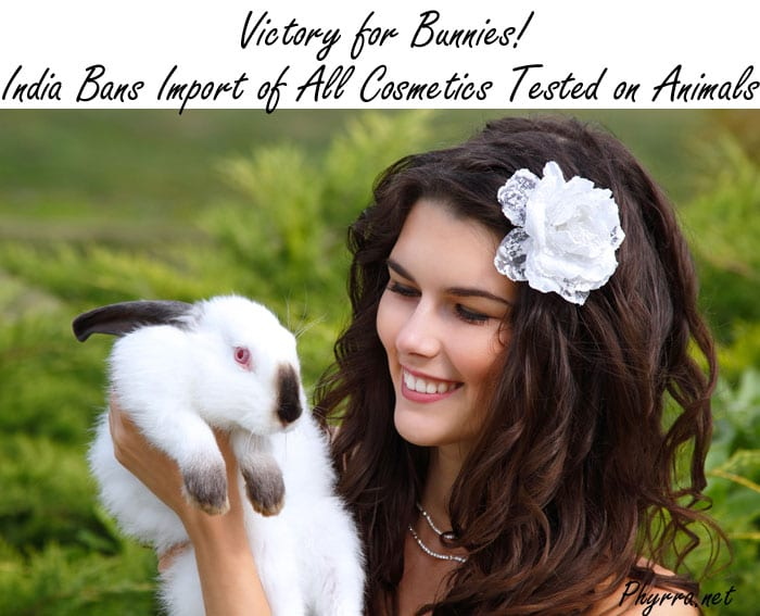 Victory for Bunnies! India Bans Import of All Cosmetics Tested on Animals