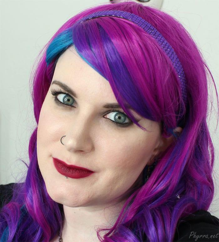 Wearing Colour Pop LBB Lipstick