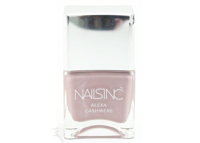 Nails inc. alexa chung fabric inspired nail polishes