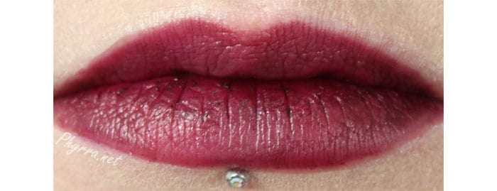 Performance Colors Black Rose Lipstick