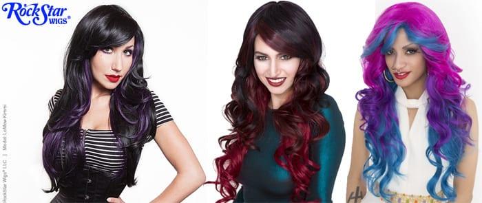 Gothic Lolita Rockstar Wigs