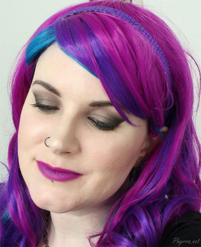 Wearing Saucebox Etude Palette and Grind Lipstick