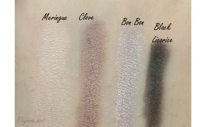 Too Faced Sugar and Spice Swatches