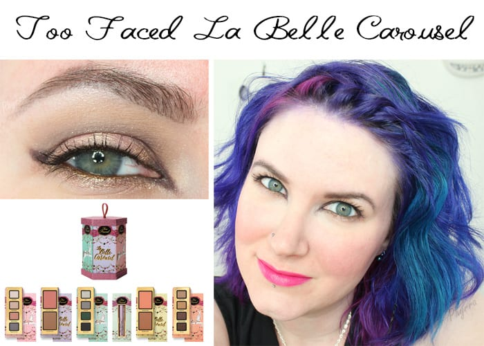 Too Faced La Belle Carousel Tutorial with Gouldylox