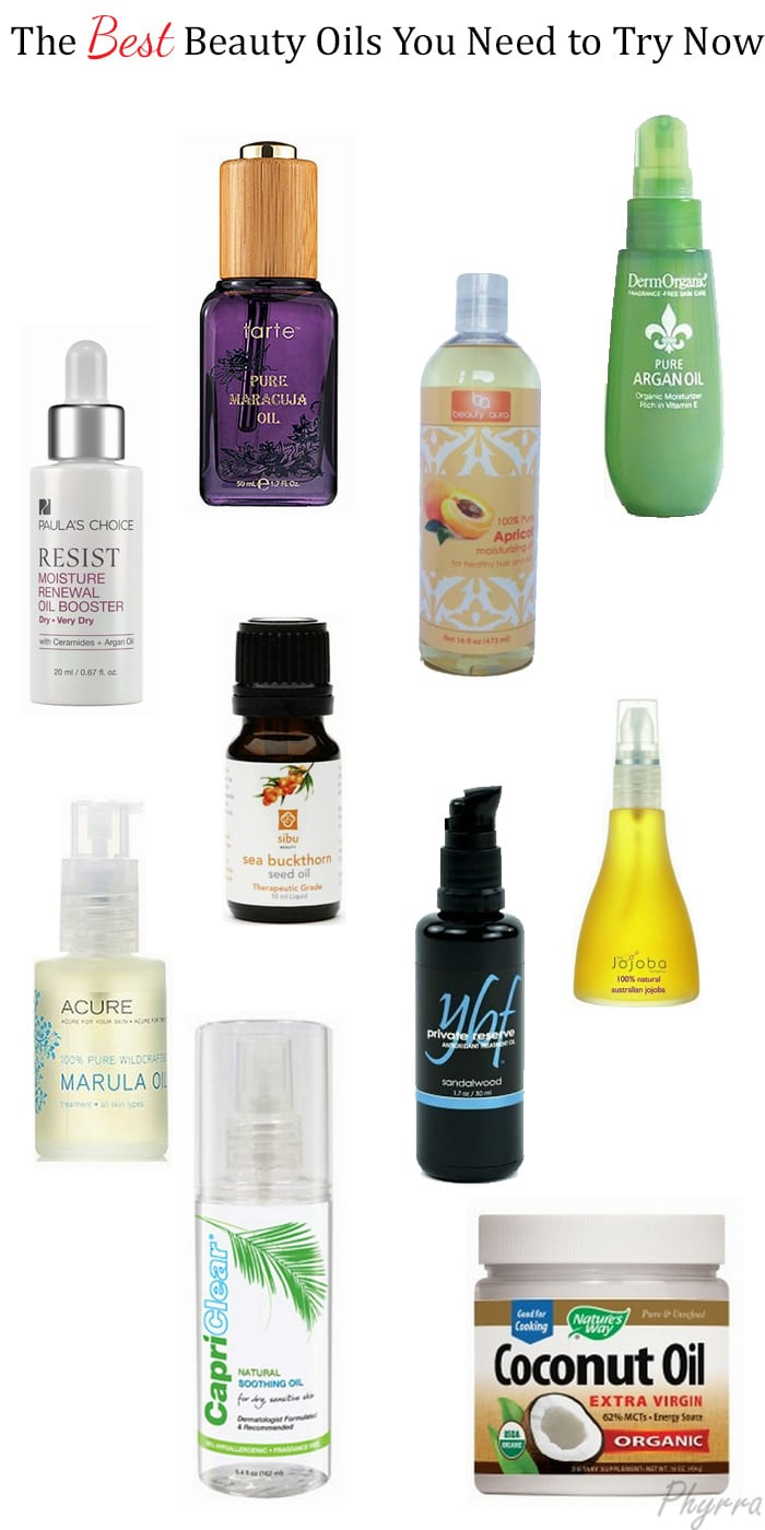 The Best Beauty Oils You Need to Try Now