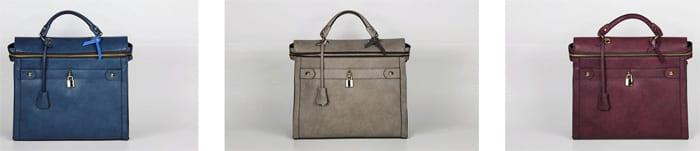 Angela and Roi Vegan Charitable Handbags