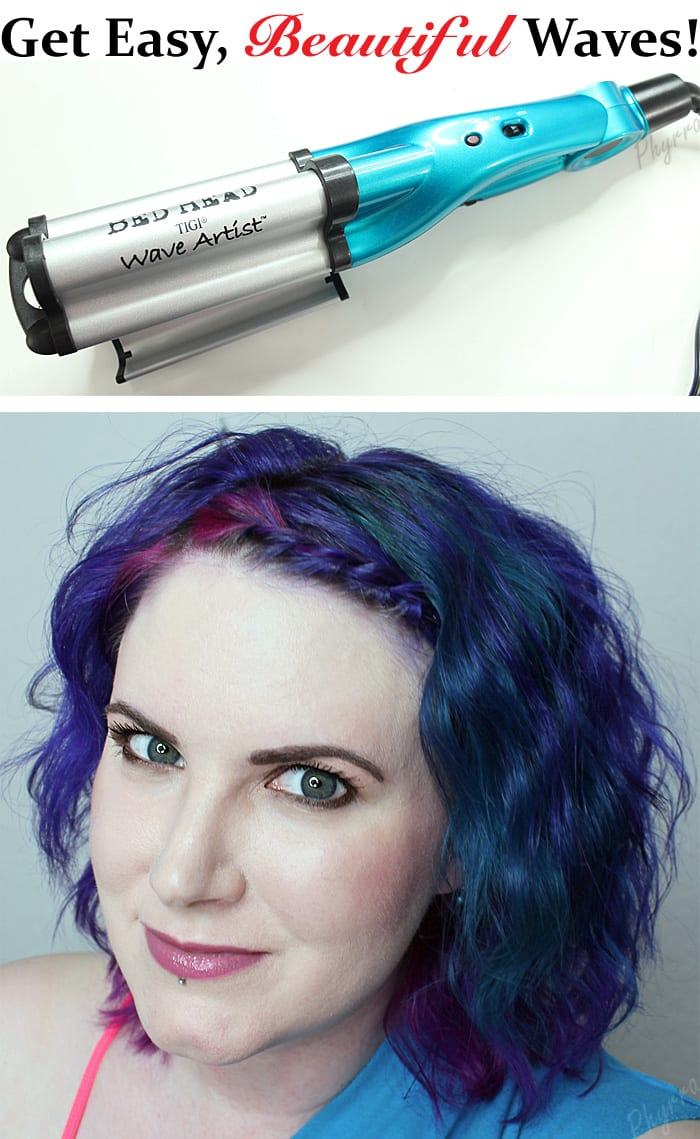 Get Easy Beautiful Waves with the Bed Head Deep Waver wwwPhyrranet