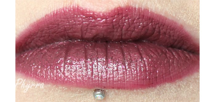 Performance Colors After Hours Lip Swatch- www.Phyrra.net