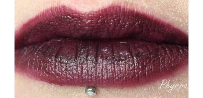 Performance Colors Badlands Lip Swatch - www.Phyrra.net