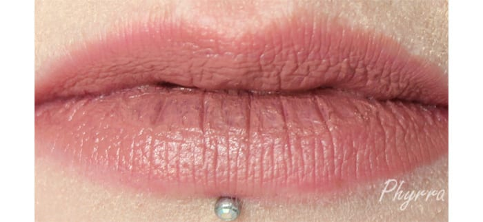 Performance Colors Hush Lip Swatch - www.Phyrra.net