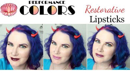 Performance Colors Restorative Lipsticks Video