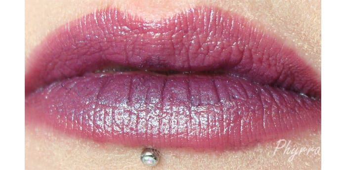 Performance Colors Zombie Bride Lip Swatch - www.Phyrra.net