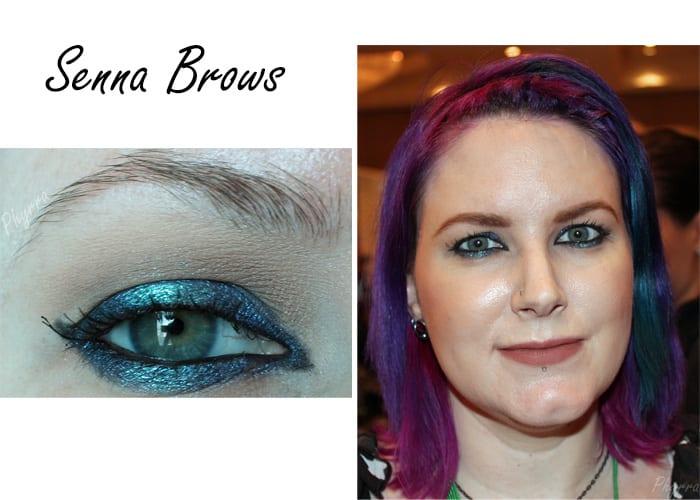 Senna Cosmetics Brows At The Makeup Show Orlando
