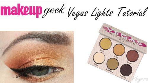 Makeup Geek Vegas Lights Tutorial