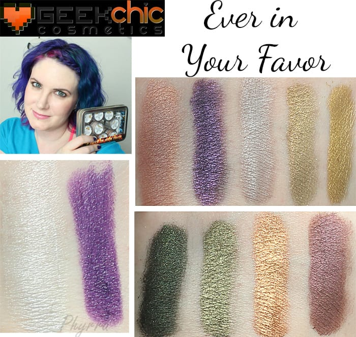 Geek Chic Ever in Your Favor Collection Video Review Swatches