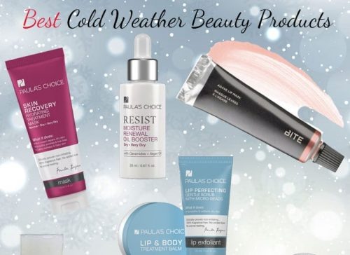 10 Best Cold Weather Beauty Products
