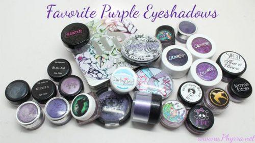 Favorite Purple Eyeshadows