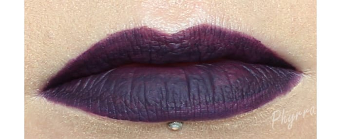 Fyrinnae Matte Liquid Lipstick in Desire