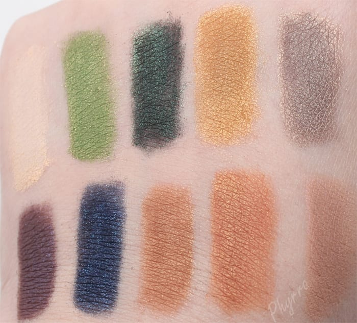Life's Entropy Eyeshadows swatches review