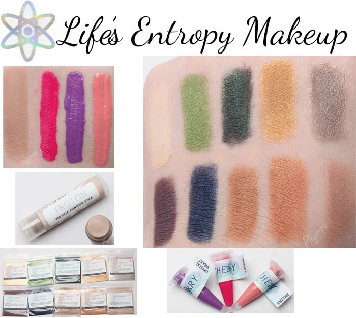 Life's Entropy Makeup Swatches Review