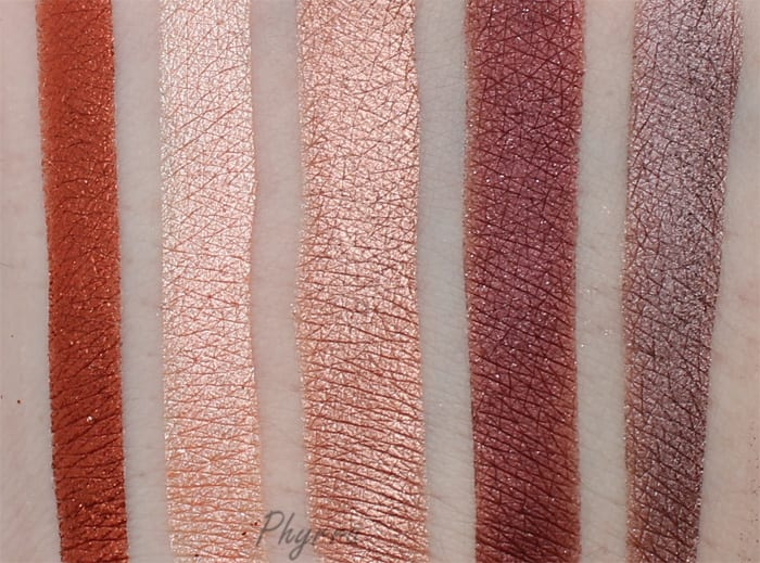 Makeup Geek Foiled Eyeshadows Review Swatches Video