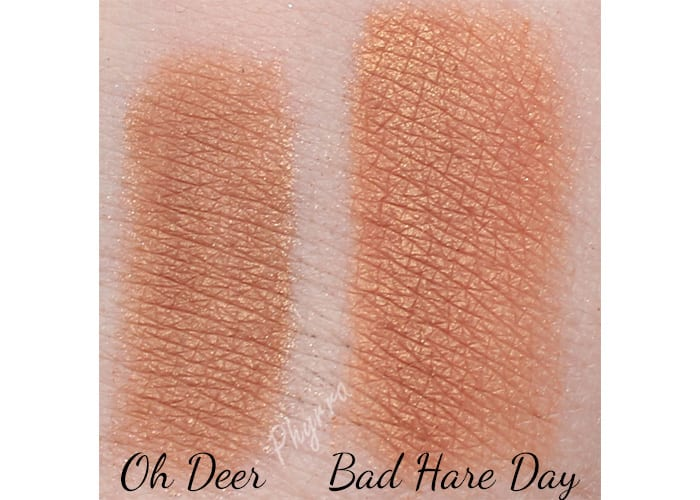 Life's Entropy Oh Deer and Bad Hare Day swatch review