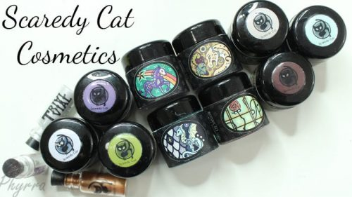 Scaredy Cat Cosmetics Video Review