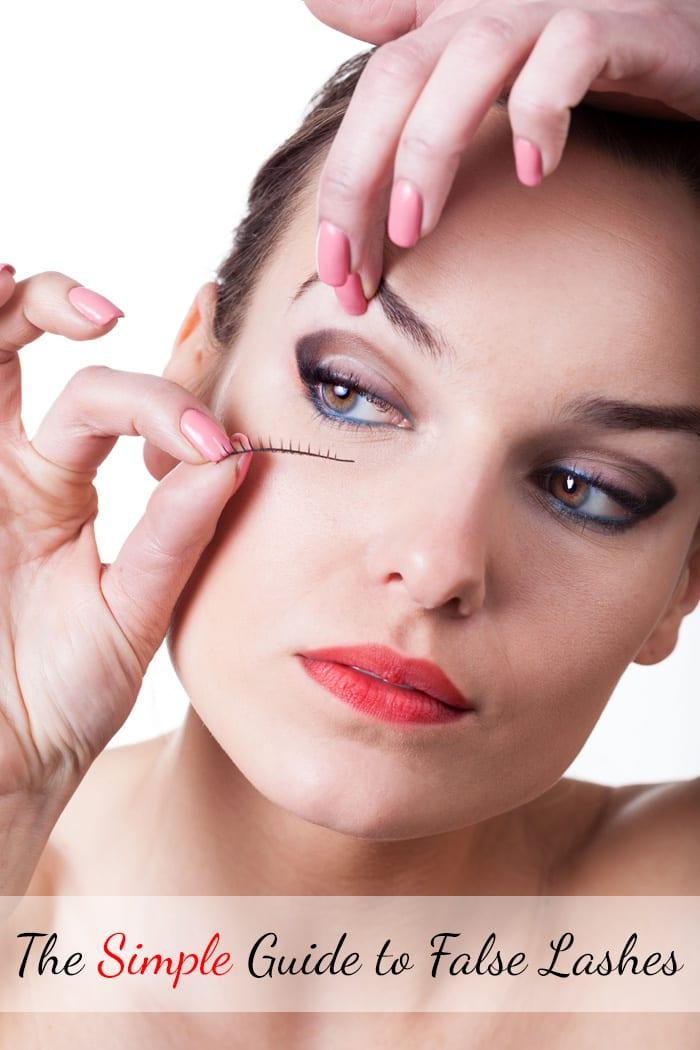 The Simple Guide to False Lashes
