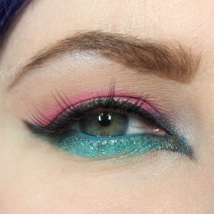 Glittery New Years Eve Tutorial featuring Lit Cosmetics and Sugarpill