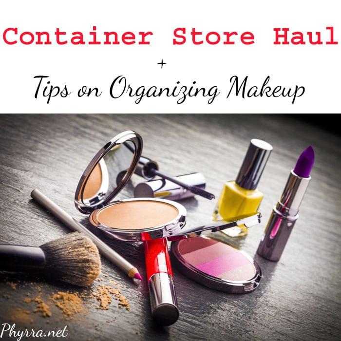 Container Store Haul