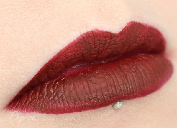 Fyrinnae Liquid Matte Lipstick in Vixen