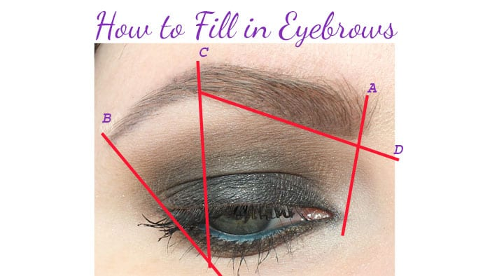 How To Fill In Eyebrows I Show You How To Fill In