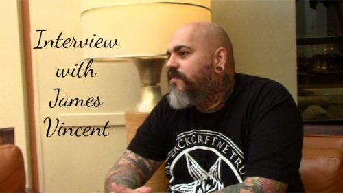 Interview with James Vincent