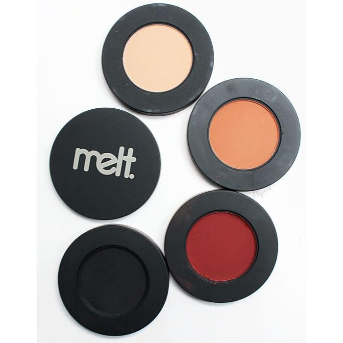 Melt Cosmetics Dark Matter Eyeshadow Stack Review