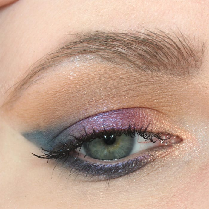 Melt Eyeshadow Stack Look on Hooded Eyes
