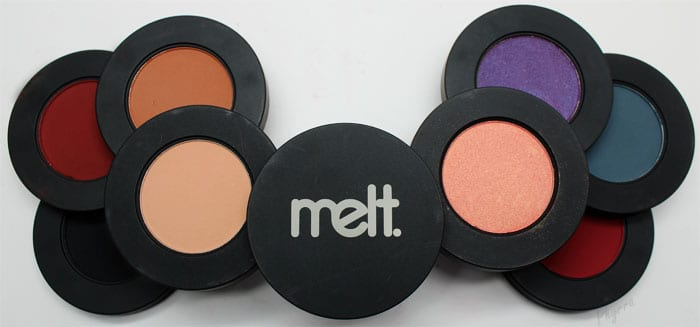 Melt Cosmetics Dark Matter and Love Sick Eyeshadow Stacks Review Video Swatches