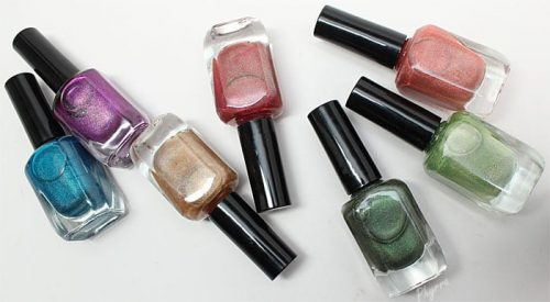 Superficially Colorful Lacquers